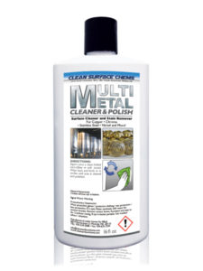 Multi Metal Cleaner & Polish 16 oz